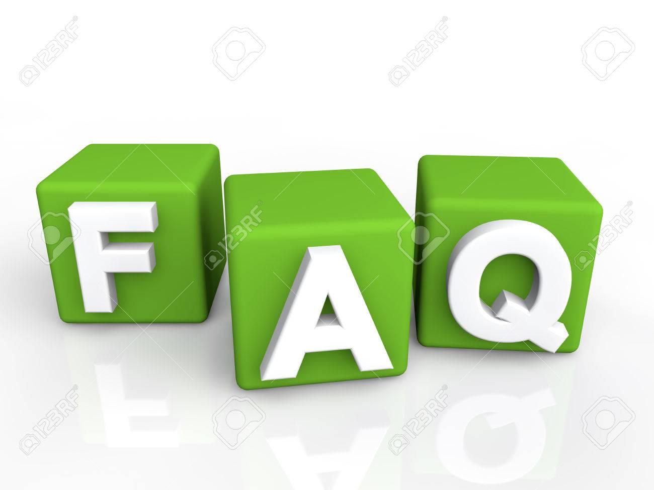 FAQ green cubes - 43384140