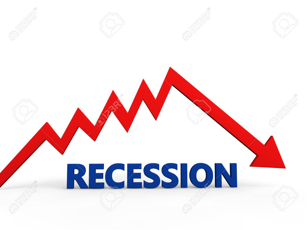 Recession concept - 43384169
