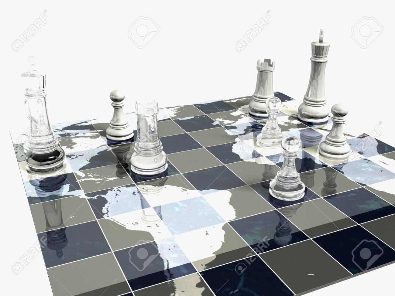 Political Chess Game - 3133104