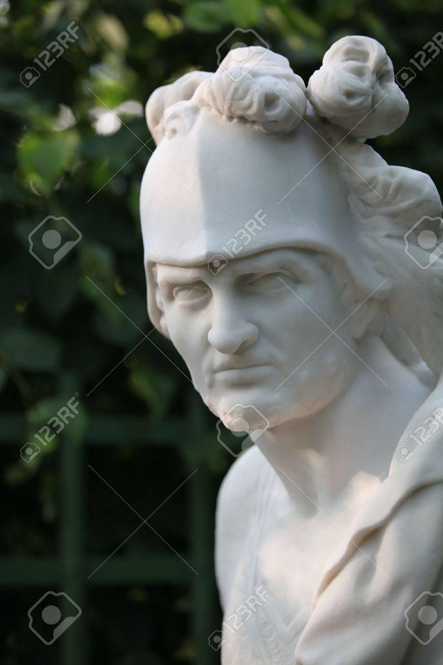 Greek God of War Statue Antique Statue of Greek God of