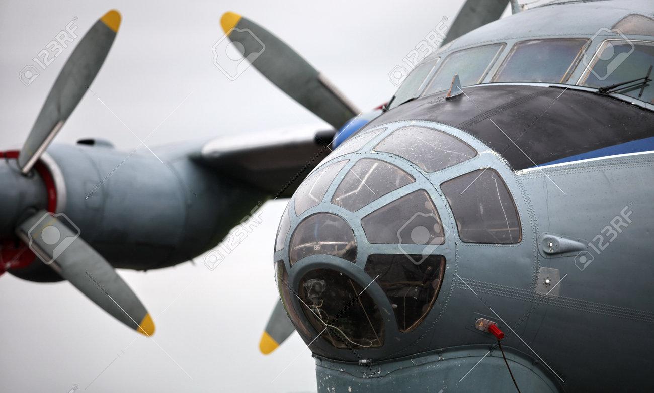 ソ連軍用輸送機 AN12 の写真素材・画像素材 Image 16870505.
