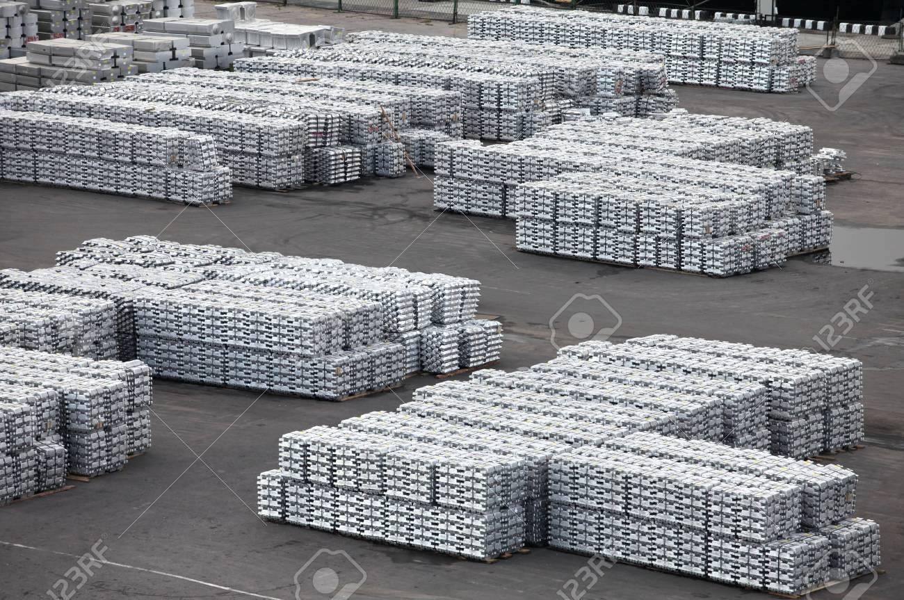Storage non-ferrous metal products