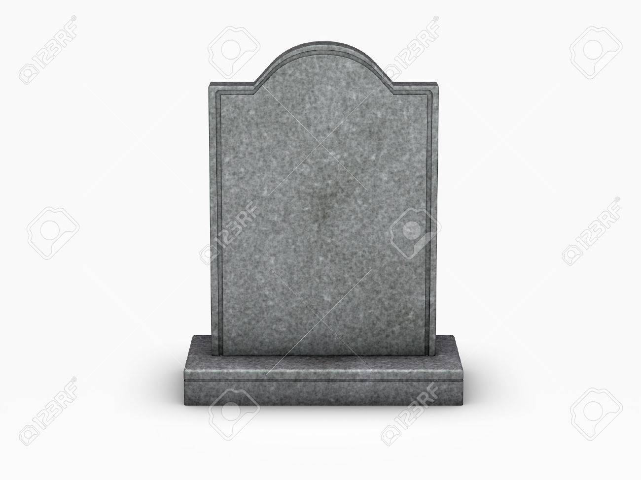 gravestone on white background stock photo picture and royalty free