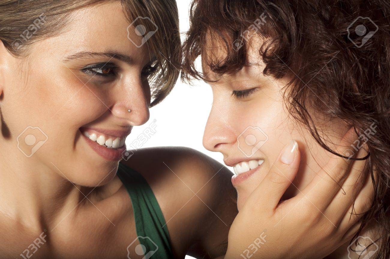Lesbians Caress Stock Photo - 7705765