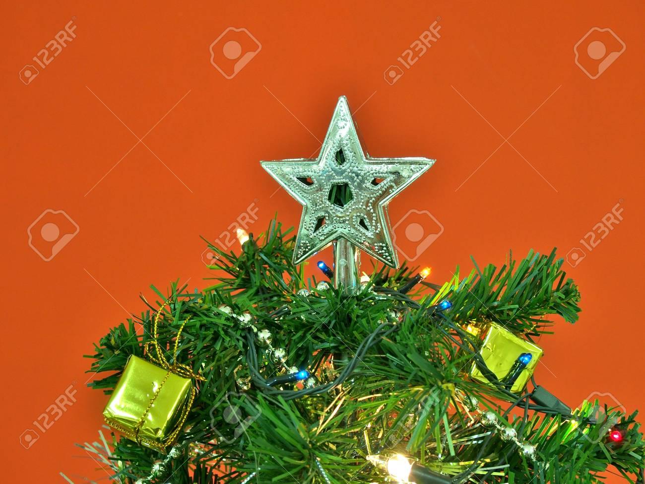 Decoración árbol de navidad Estrella de Plata