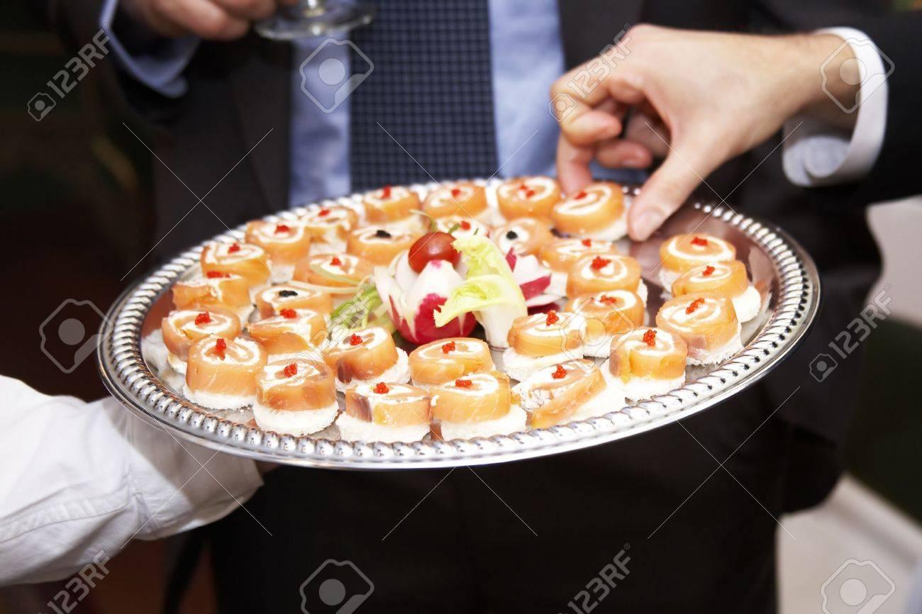 A platter of appetizing snacks Stock Photo - 784080
