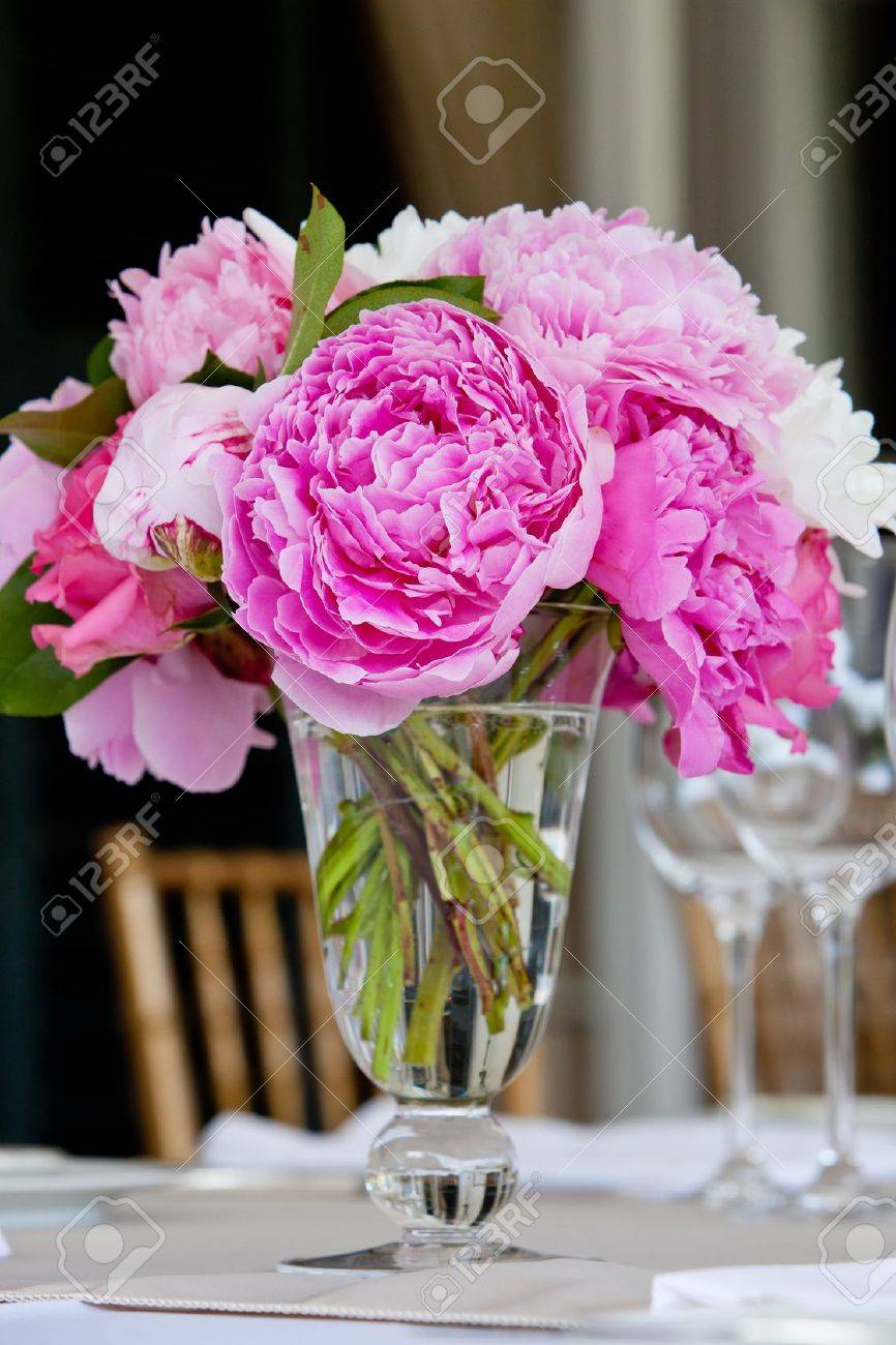 Wedding Table Decoration Series Stock Photo, Picture And Royalty ...