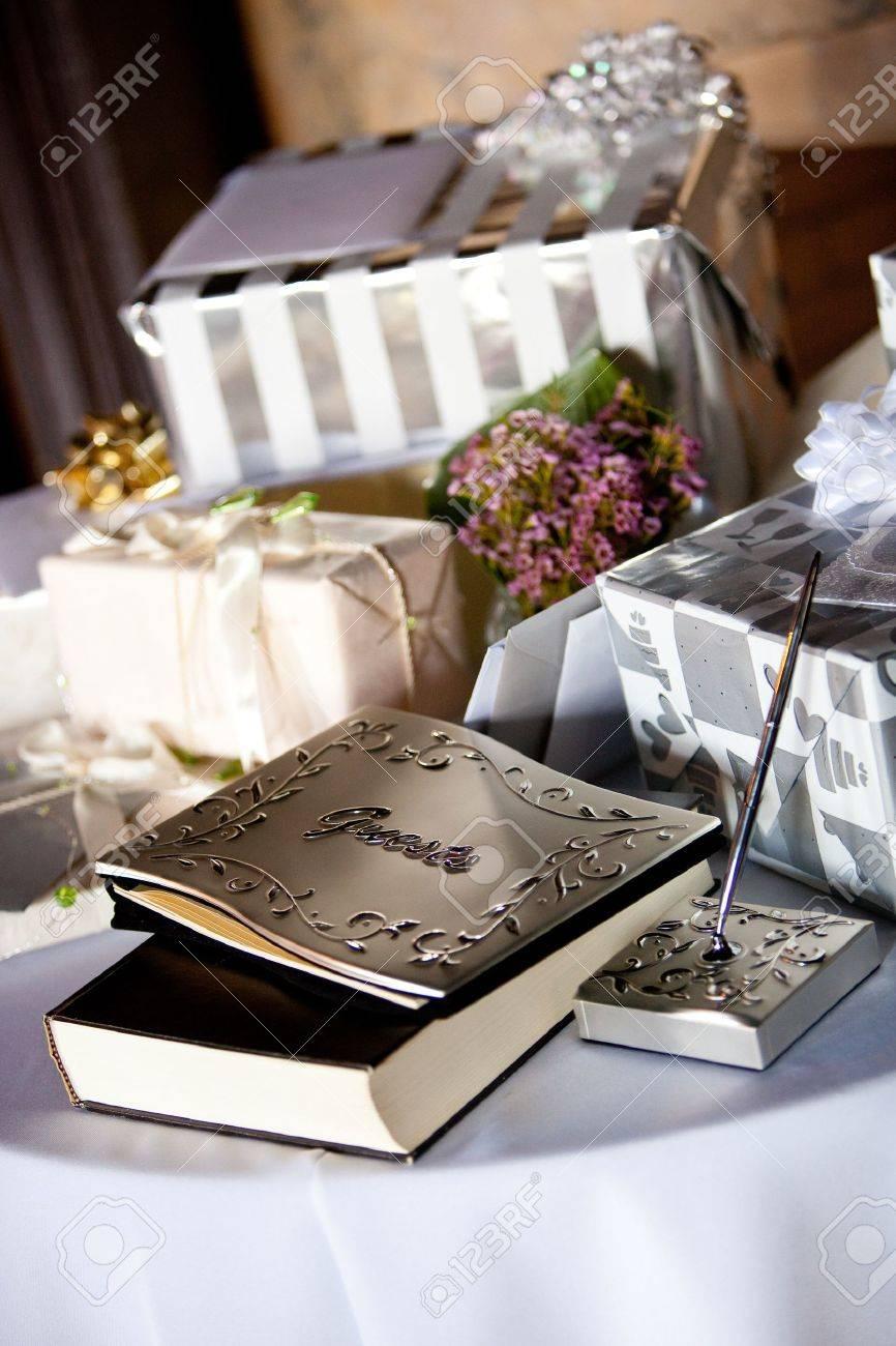 wedding reception guest books