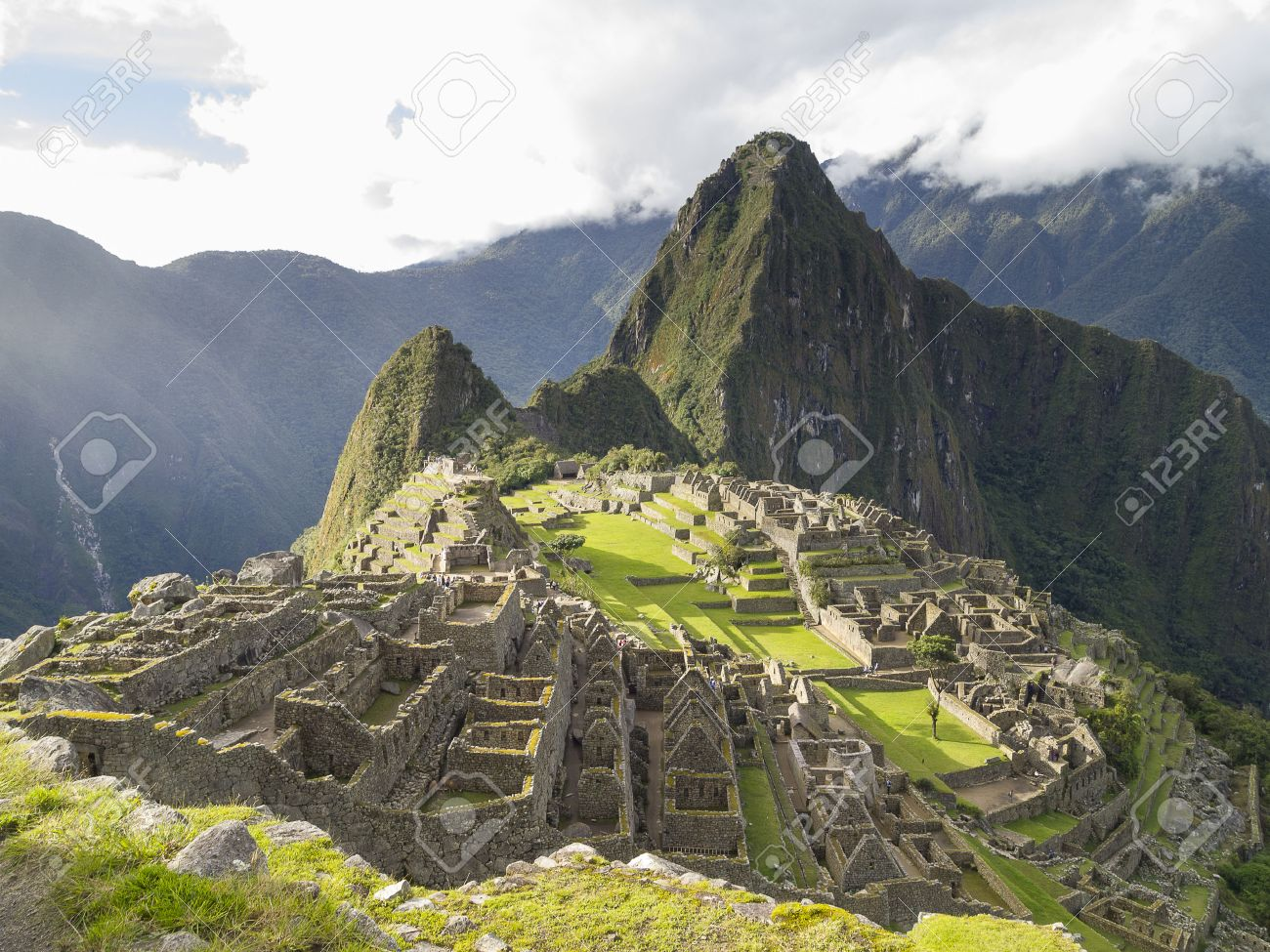 マチュピチュ、クスコ、ペルーの...