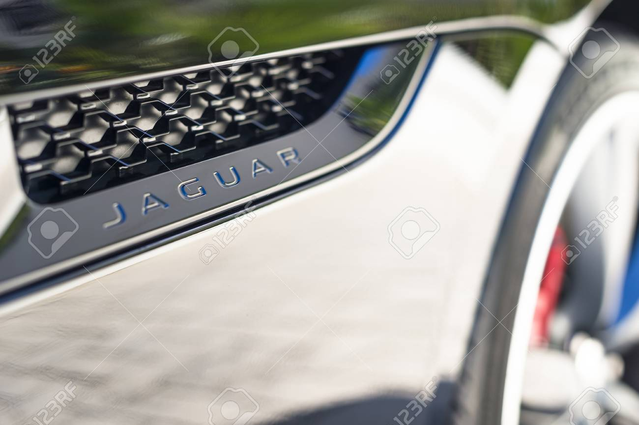 Queensway Quay Gibraltar November 12 Jaguar Badge On November