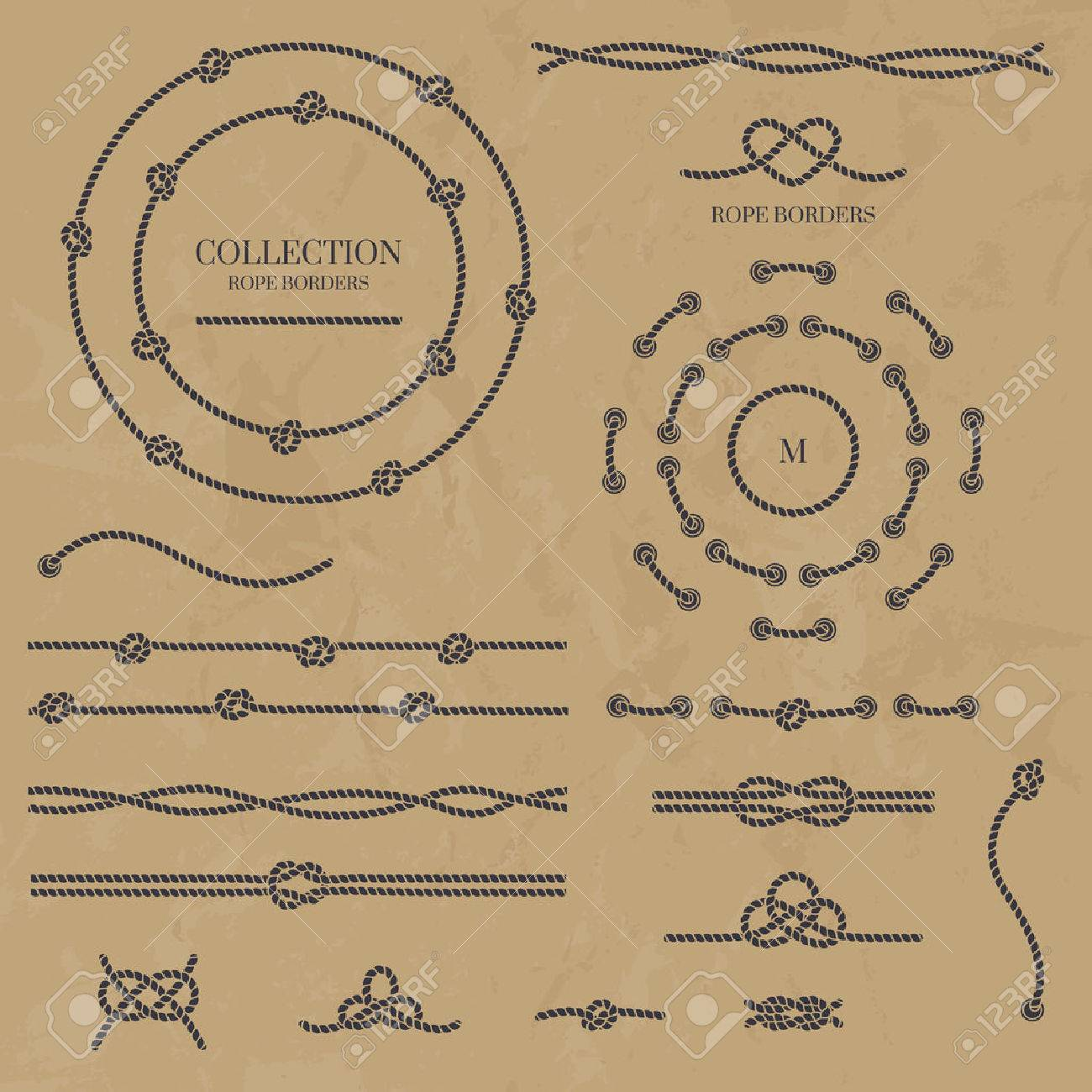 set nautical elements of the rope. - 50021531
