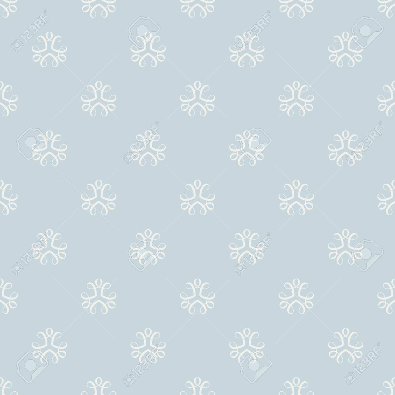 Seamless blue background for cards, invitations, textiles, wallpapers. - 61772142
