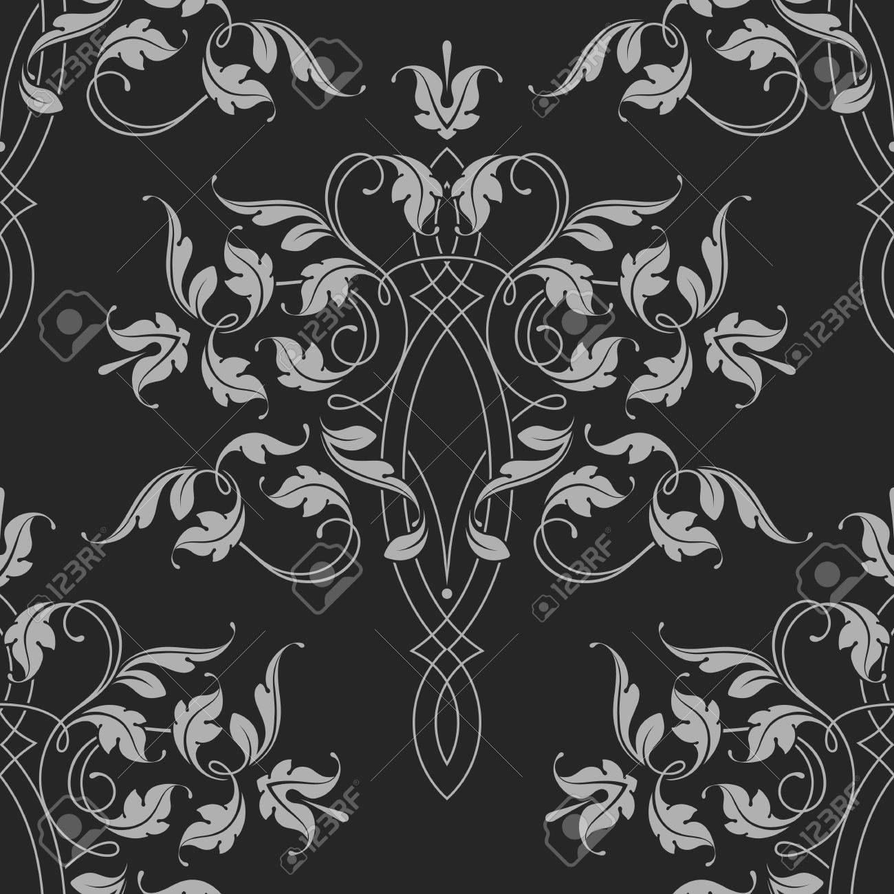 Seamless Pattern. Classical Ornament. Vector Illustration. - 64883272
