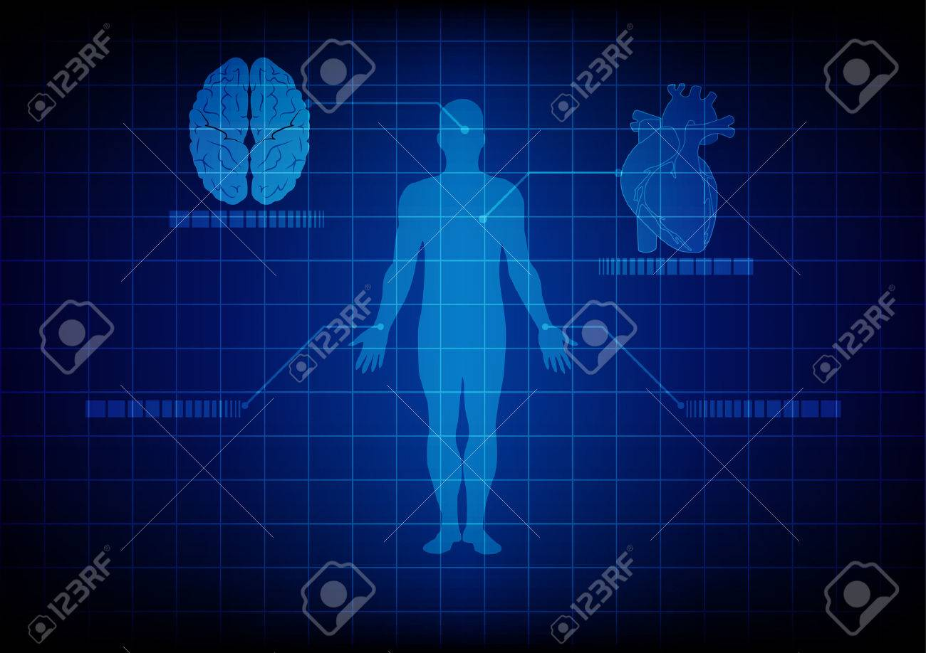 abstract medical body technology. illustration design. Stock Vector - 45603527