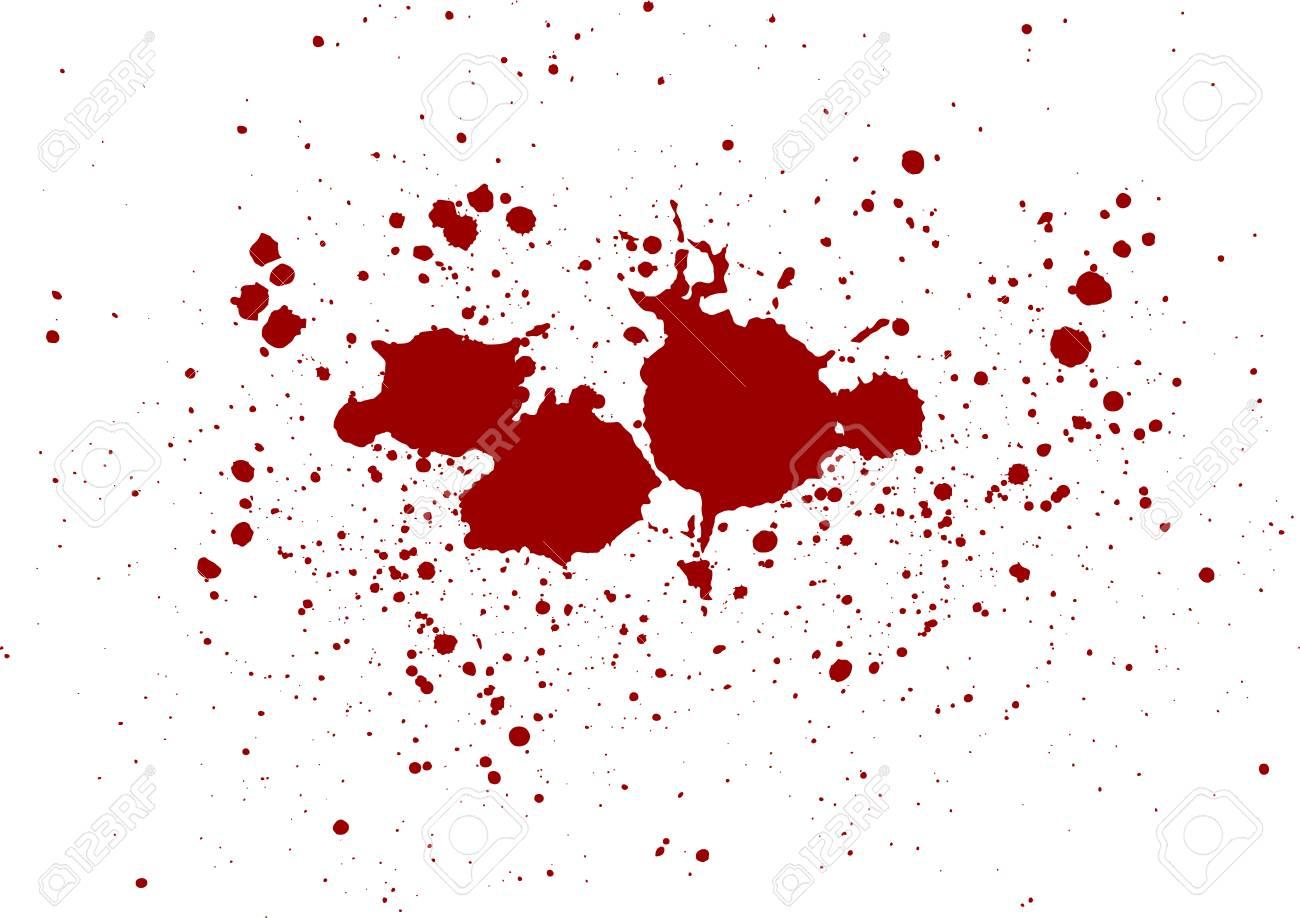 abstract vector blood splatter design background. illustration vector design - 127139119