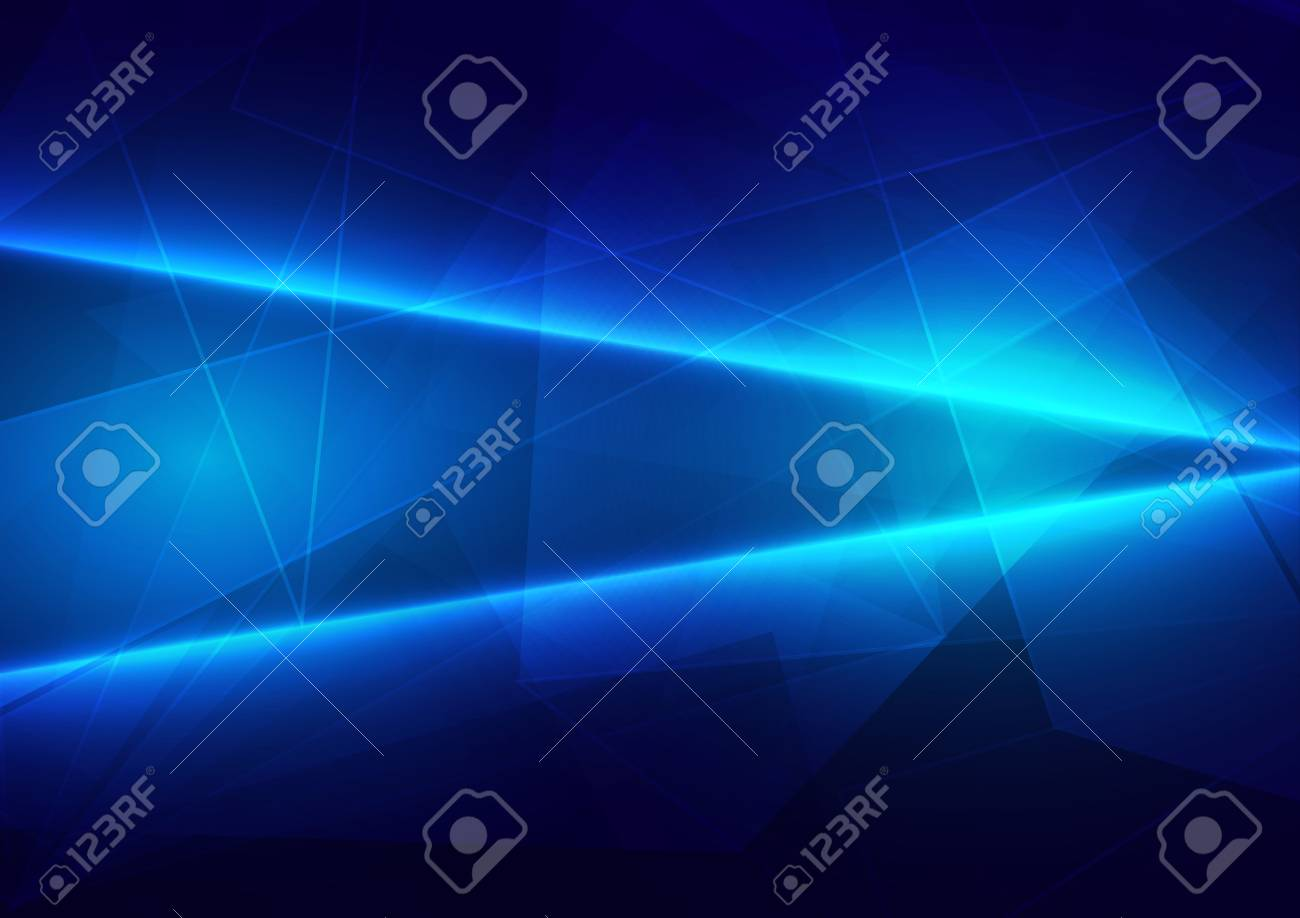 Abstract blue light with polygon connect of future background. illustration vector design - 121037678