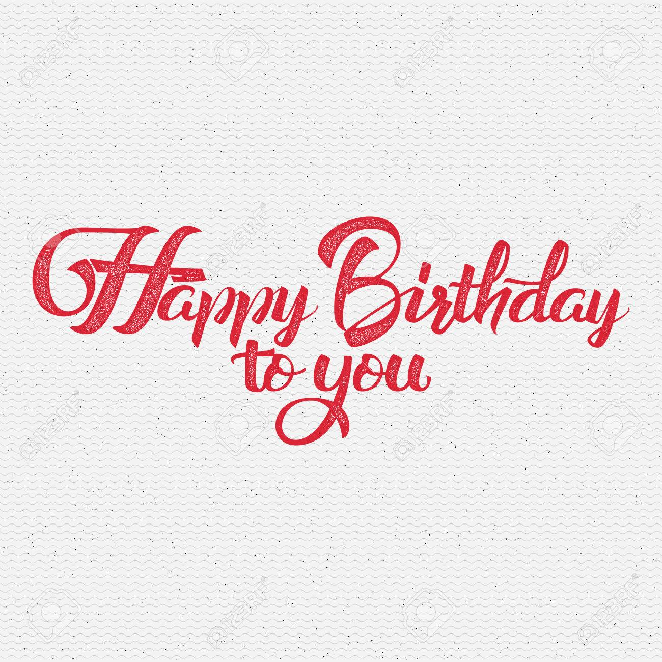 Happy birthday calligraphy art it can be used to design greeting happy birthday calligraphy art it can be used to design greeting cards magazines posters bookmarktalkfo Gallery