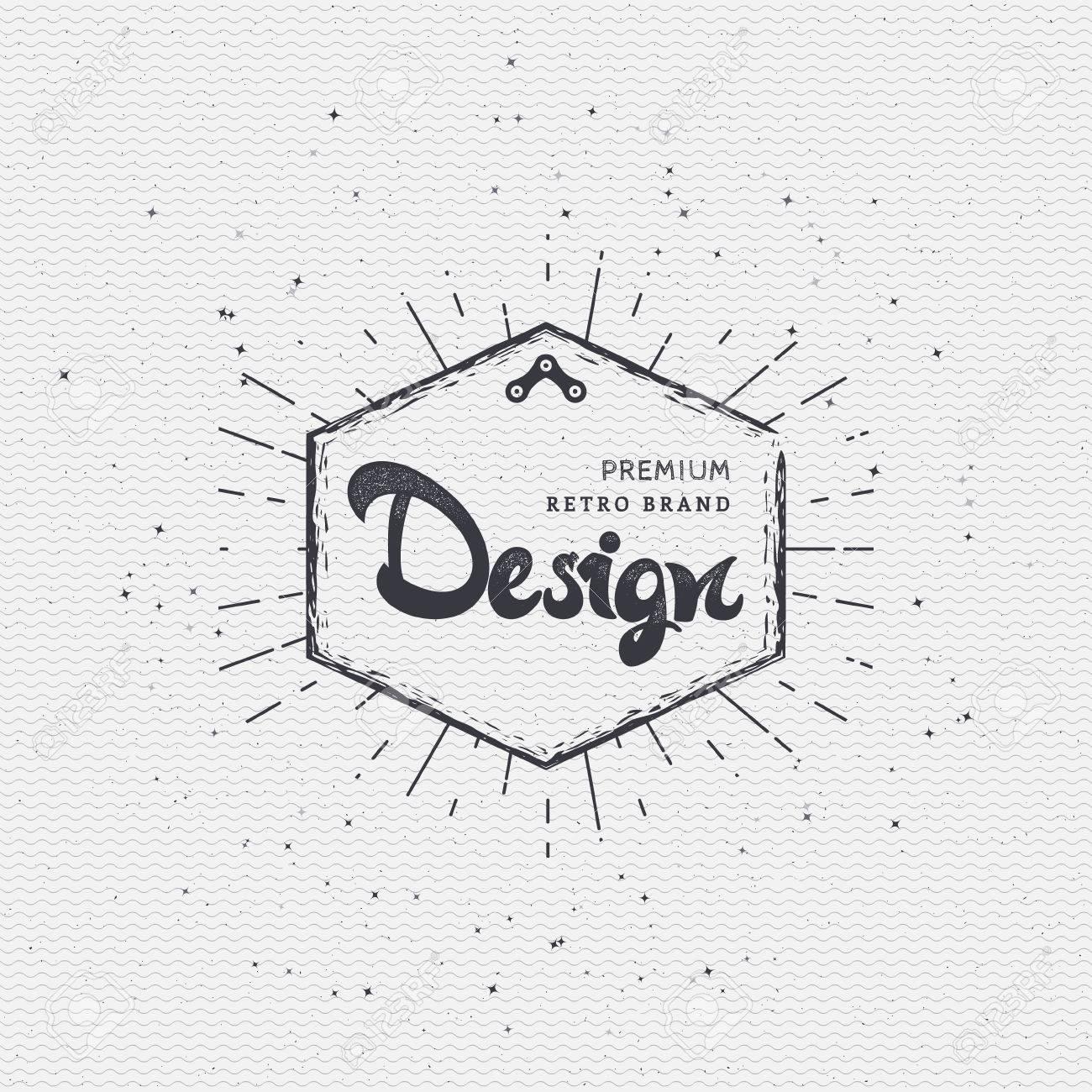 designer calligraphic writing the word lettering using design
