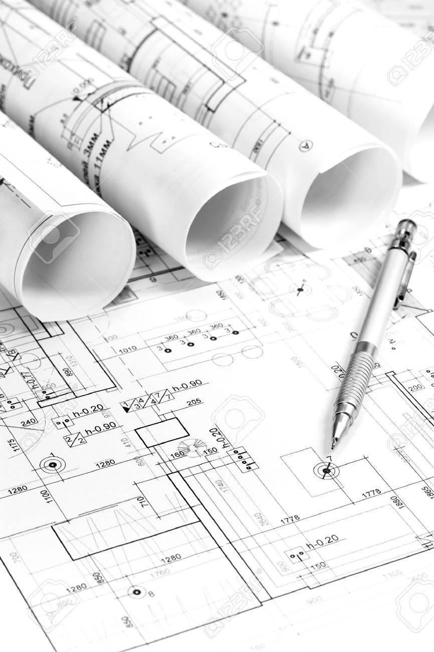 Baupläne Für Häuser architektonische baupläne neue häuser lizenzfreie fotos, bilder und