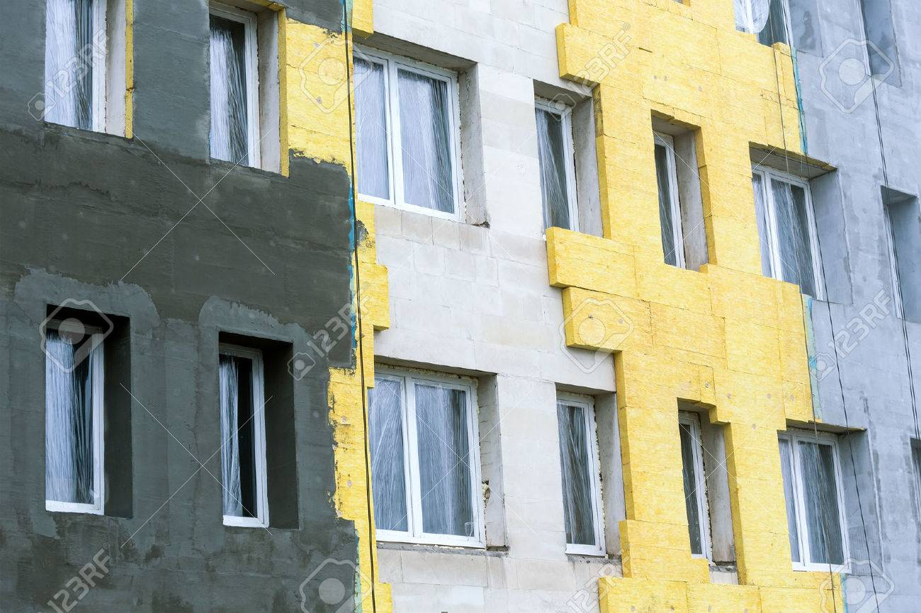 Costruzione cemento termico