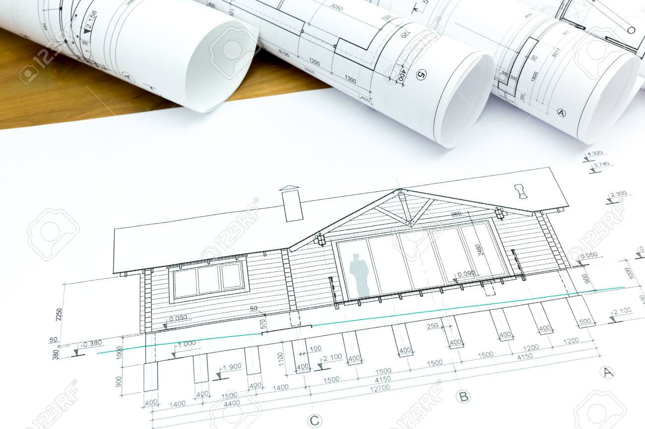 New Home Construction Plans architectural blueprints and construction plans rolls of new