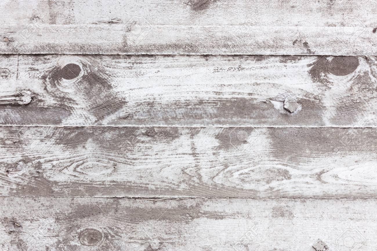 Impression Photo Planche Bois fond de mur en béton texturé gris avec impression de planches de bois