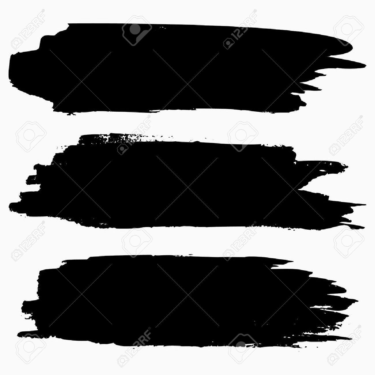 brush stroke collection grunge brush stroke vector brush stroke rh 123rf com brush vectoriel illustrator brush vector free chalk