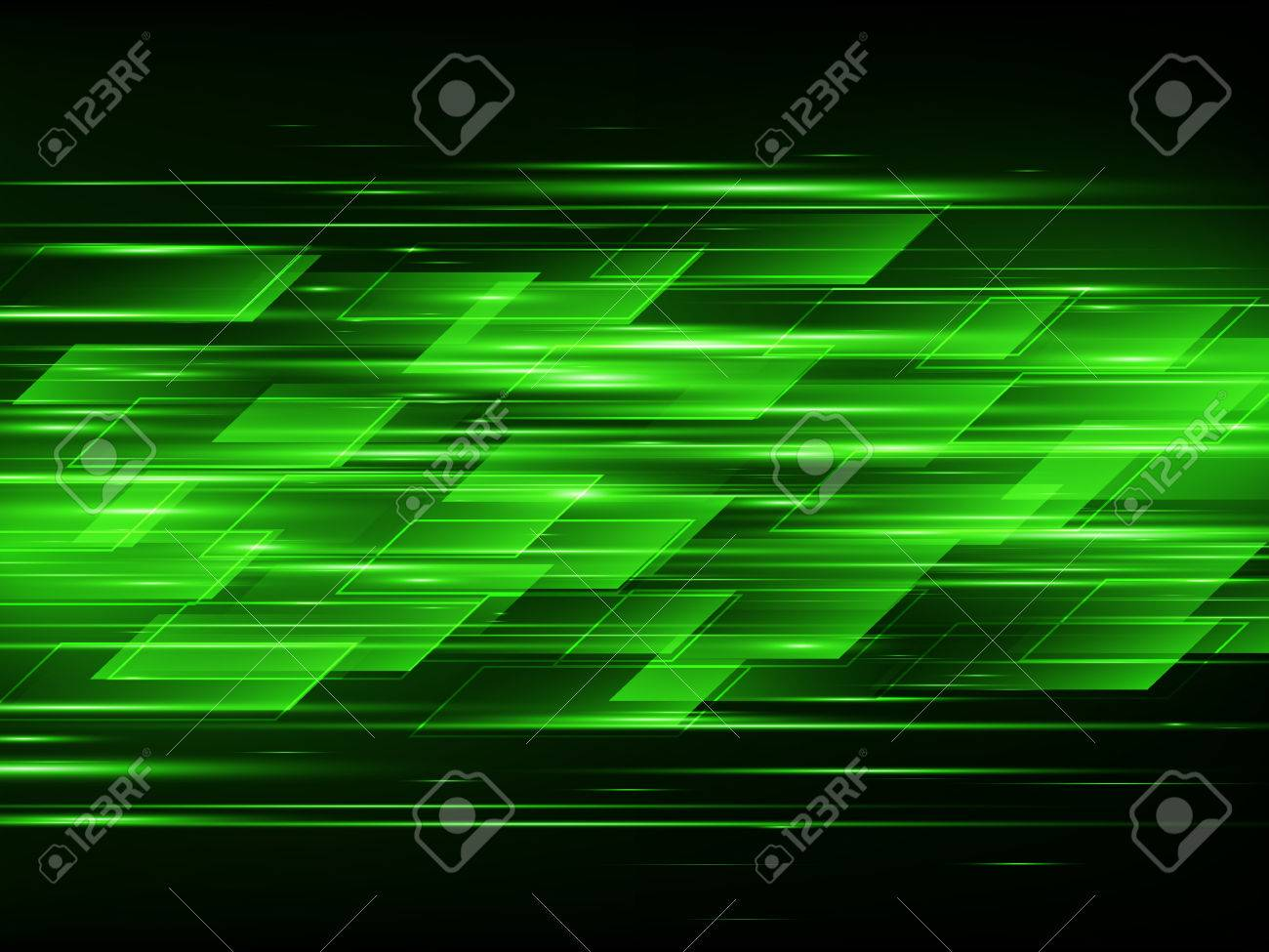 Abstract Technology Background. Vector Illustration Stock Vector