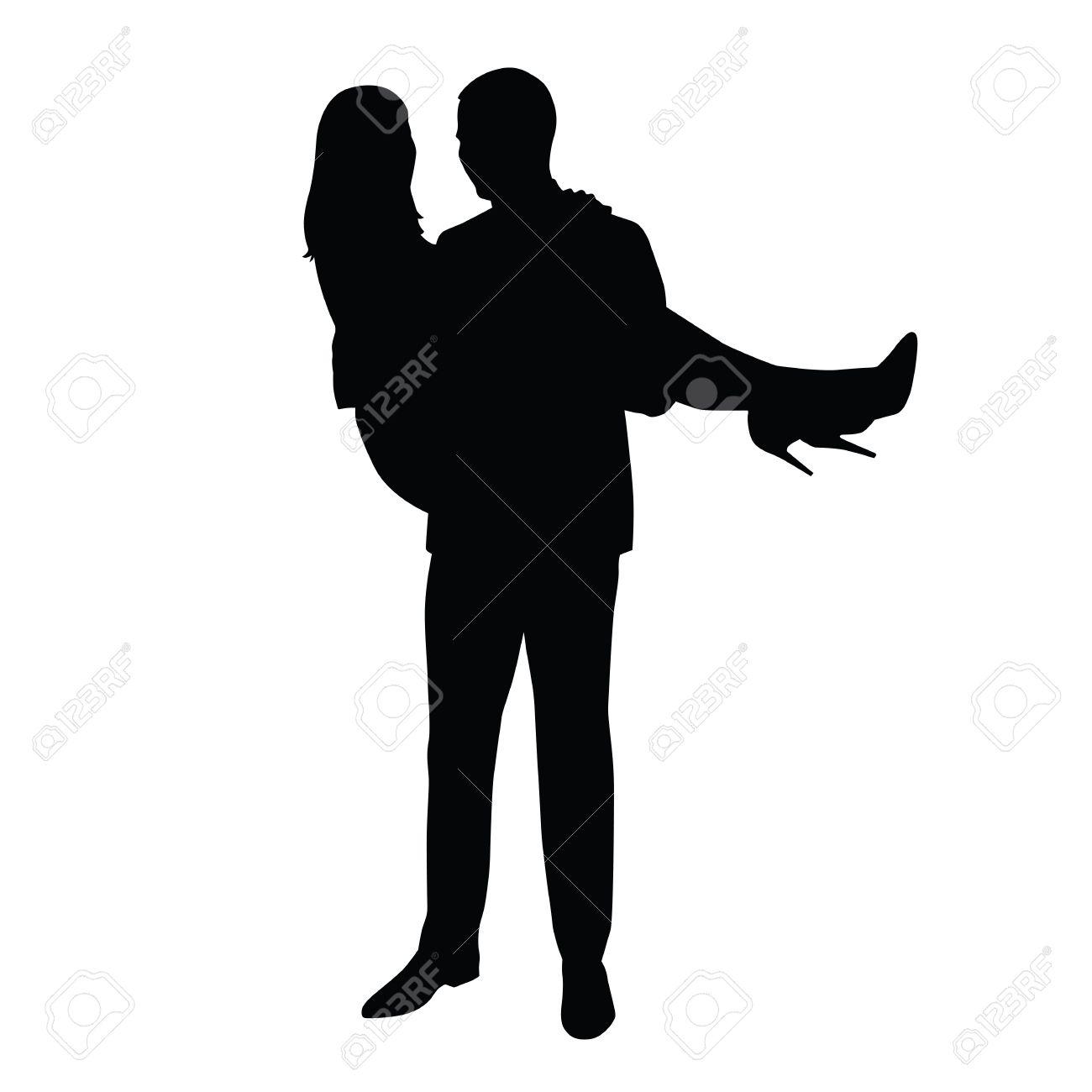 mann trägt high heels