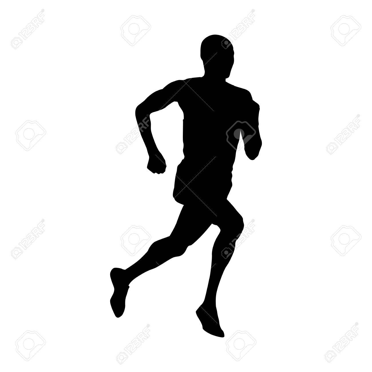 runner vector silhouette royalty free cliparts vectors and stock rh 123rf com runner vector png runner vector png