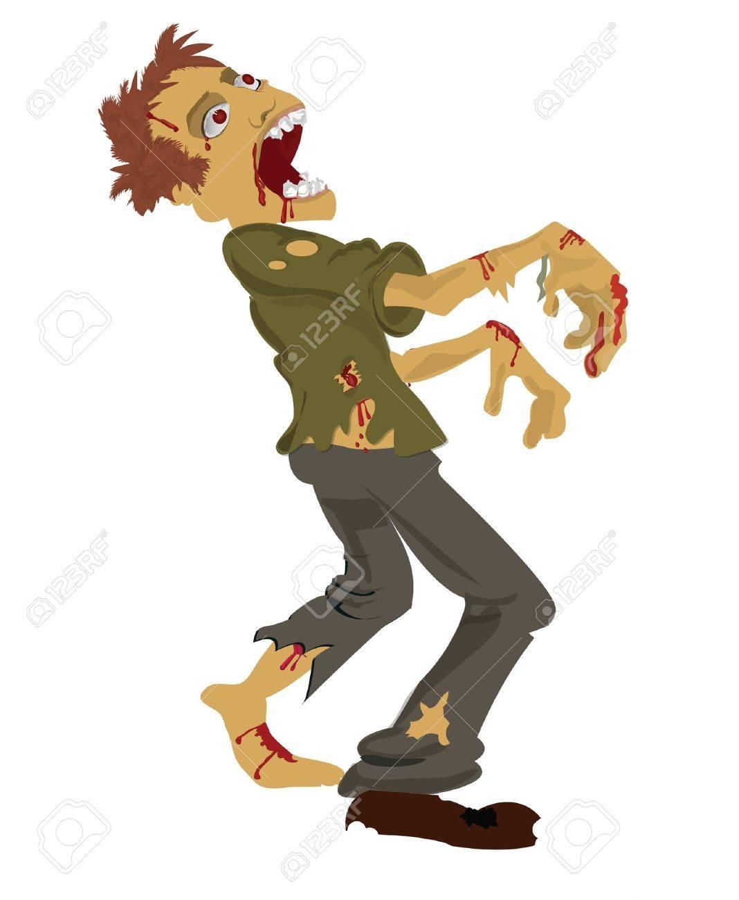 zombie man Stock Vector - 10446701