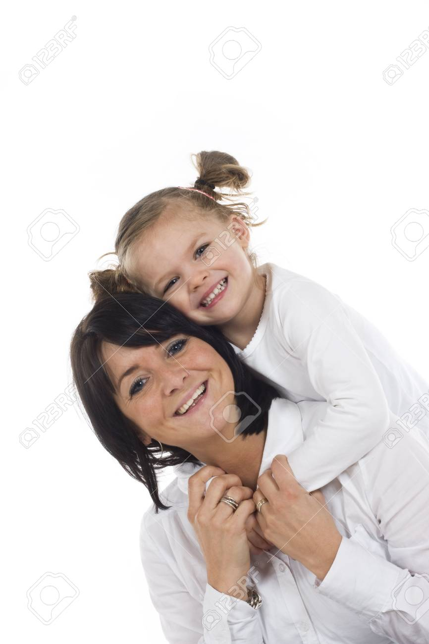 loving mother and daughter having fun Stock Photo - 2600660