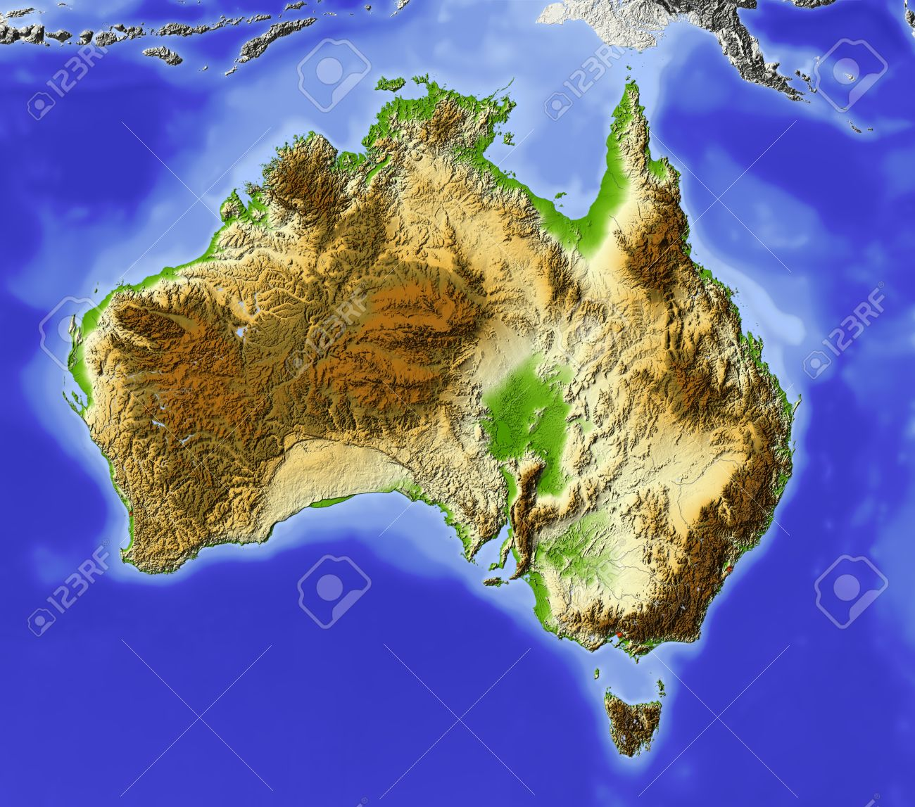 Terrain Map Stock Photos Royalty Free Terrain Map Images And Pictures - Earth terrain map