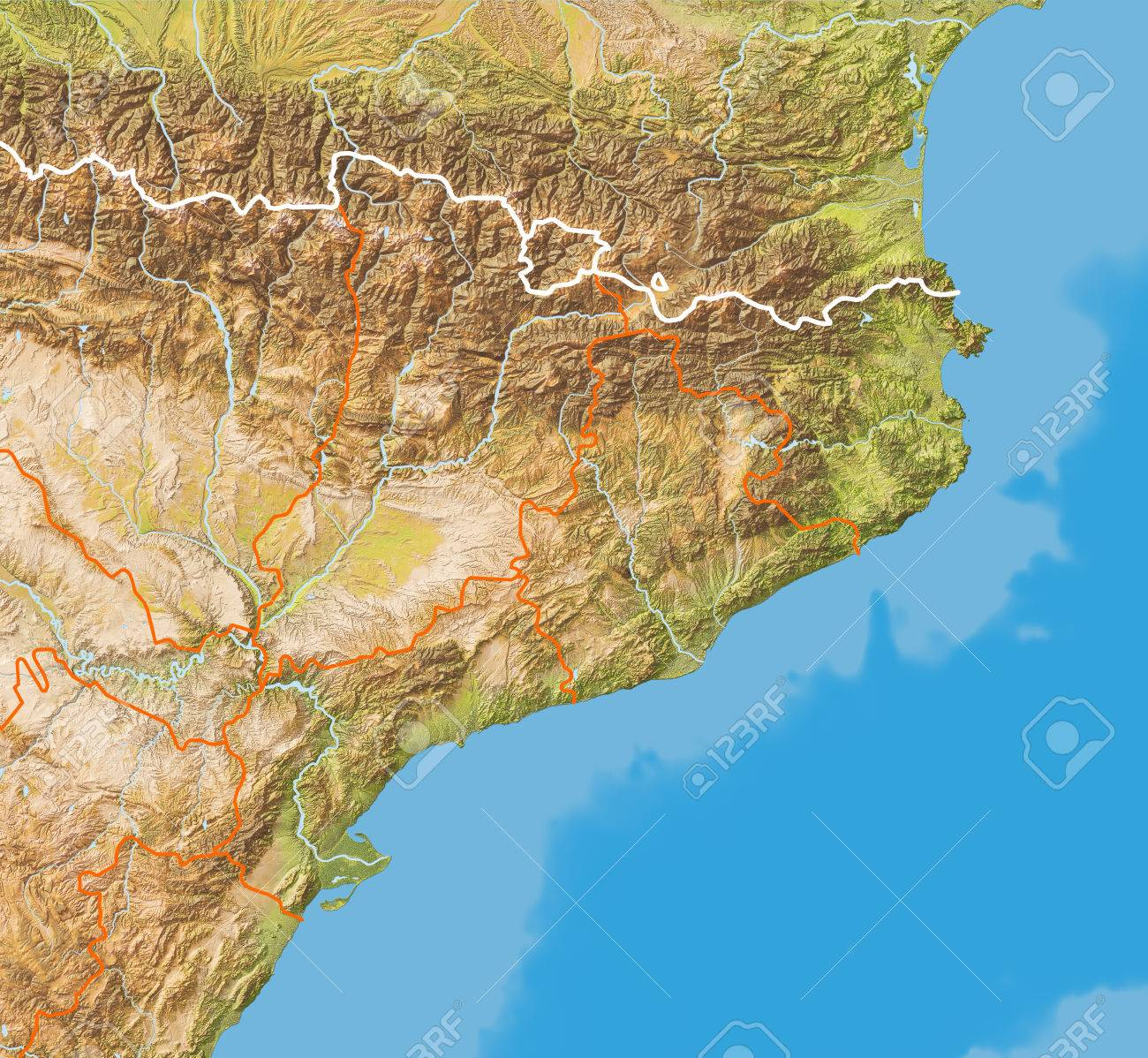 Relief map of Catalonia. Colored according to natural colors.. on ocean depth map, national geographic maps, http google maps, ocean satellite, google marine navigation maps, ocean bathymetry map, ocean wind maps, world underwater relief maps, ocean topography, ocean temperature maps, bathymetry of hawaiian islands maps, ocean bottom maps, very large world maps, ocean world map vector, ocean pacific website, lackawanna pa military maps, bing topographic maps, ocean edge villages map, ocean geography map,