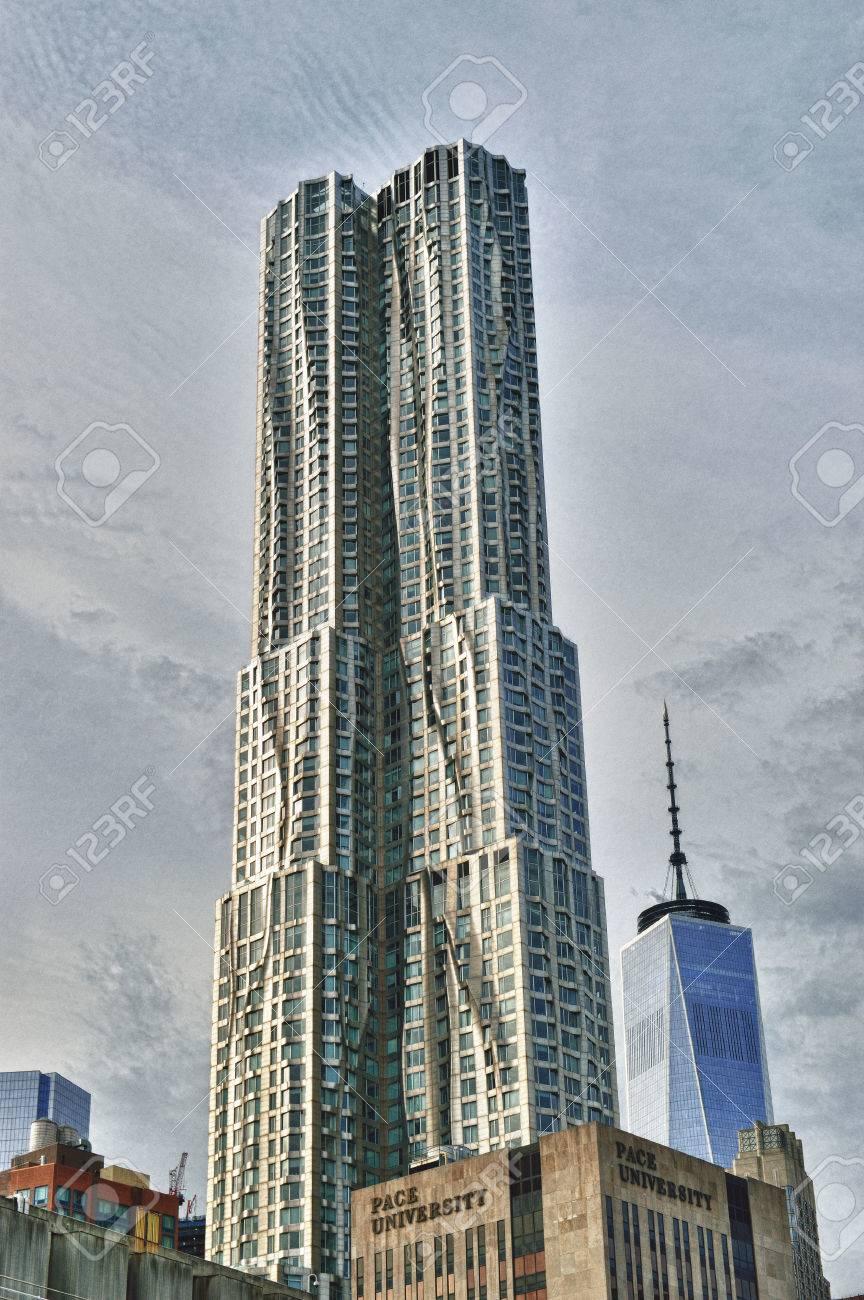 la torre de beekman tambin conocido como spruce street o en nueva york por