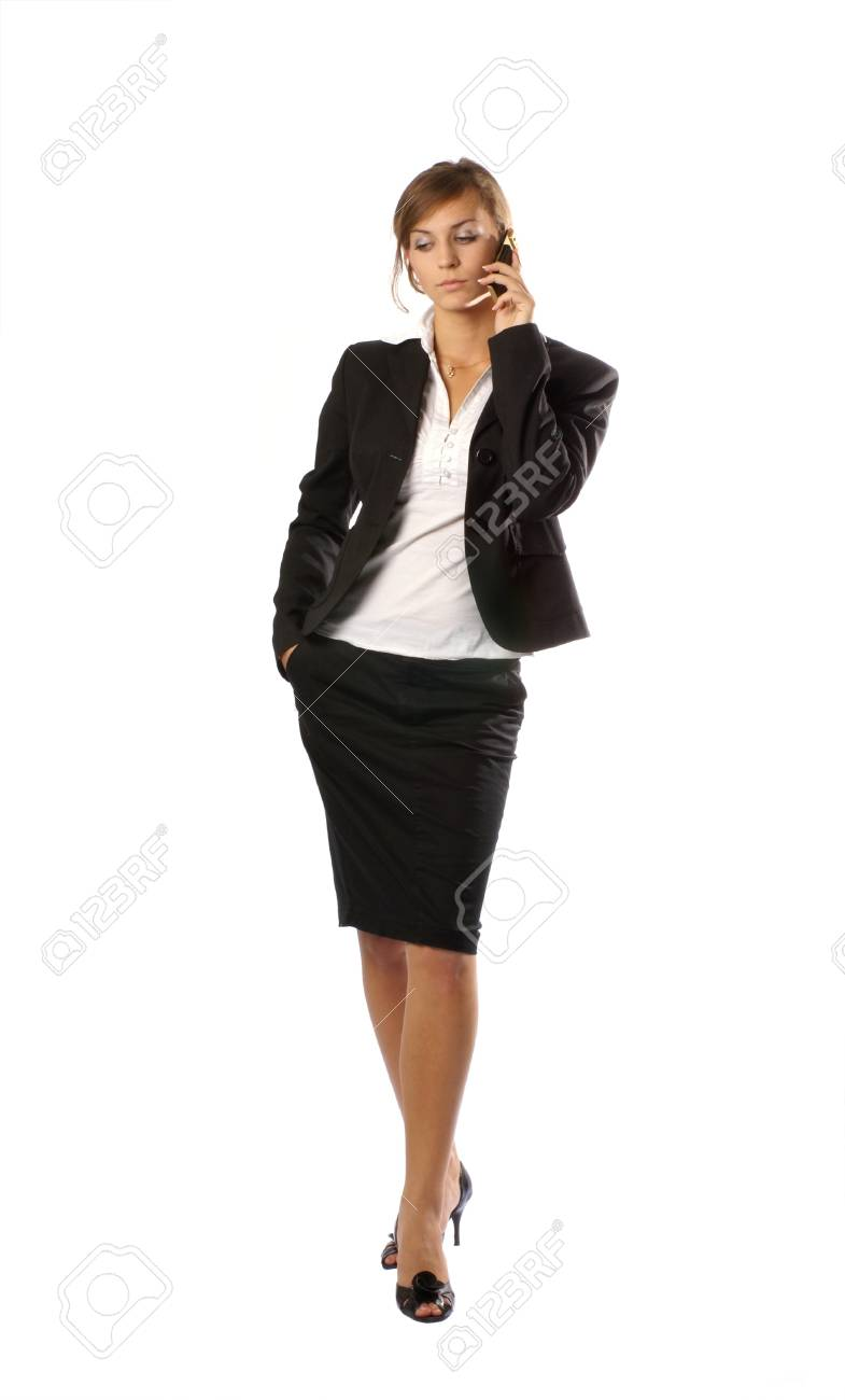 Young attractive businesswoman Stock Photo - 13242010