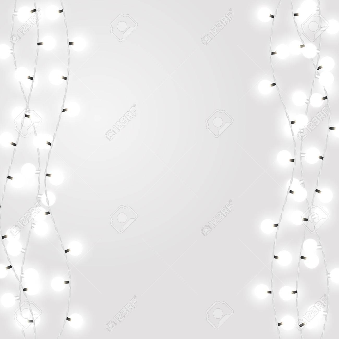 Weihnachtsbeleuchtung Glühlampen.Stock Photo