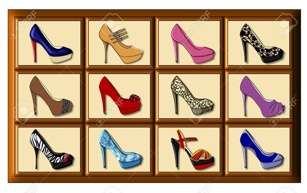 FashionHeeled Differently Ladys Twelve High Decorated rCoxeBWd