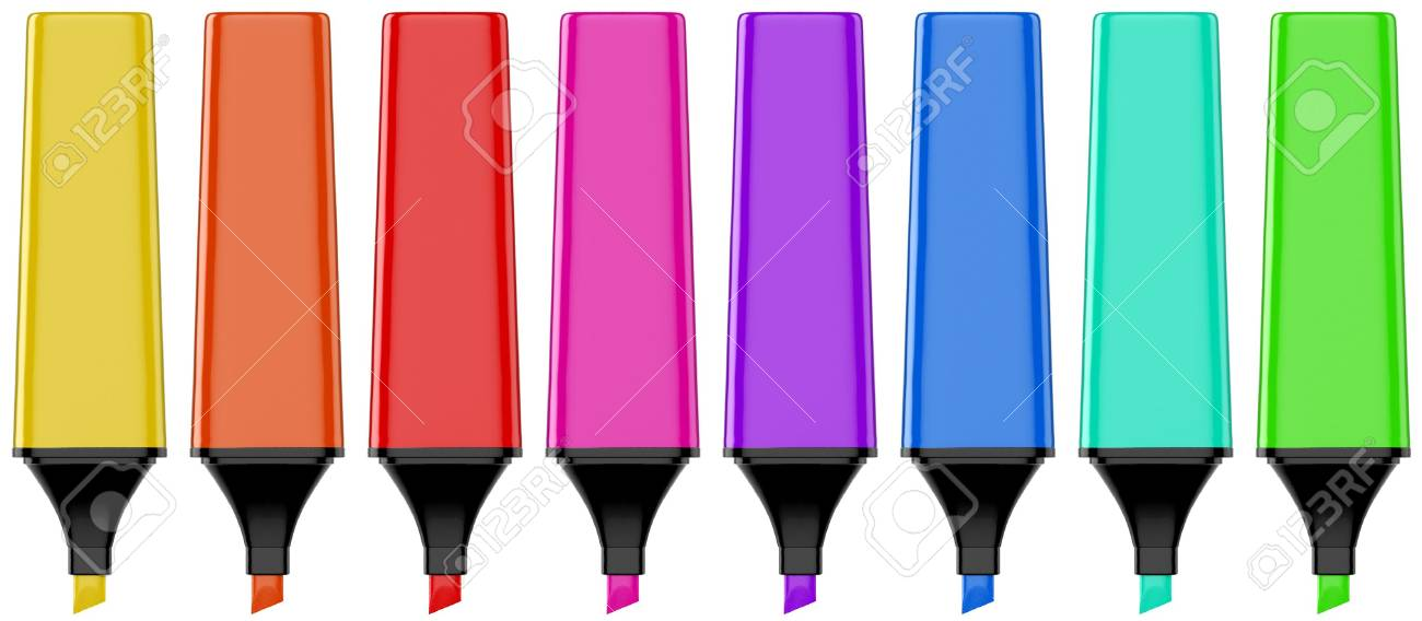 Highlighter Pen set Stock Photo - 6158861