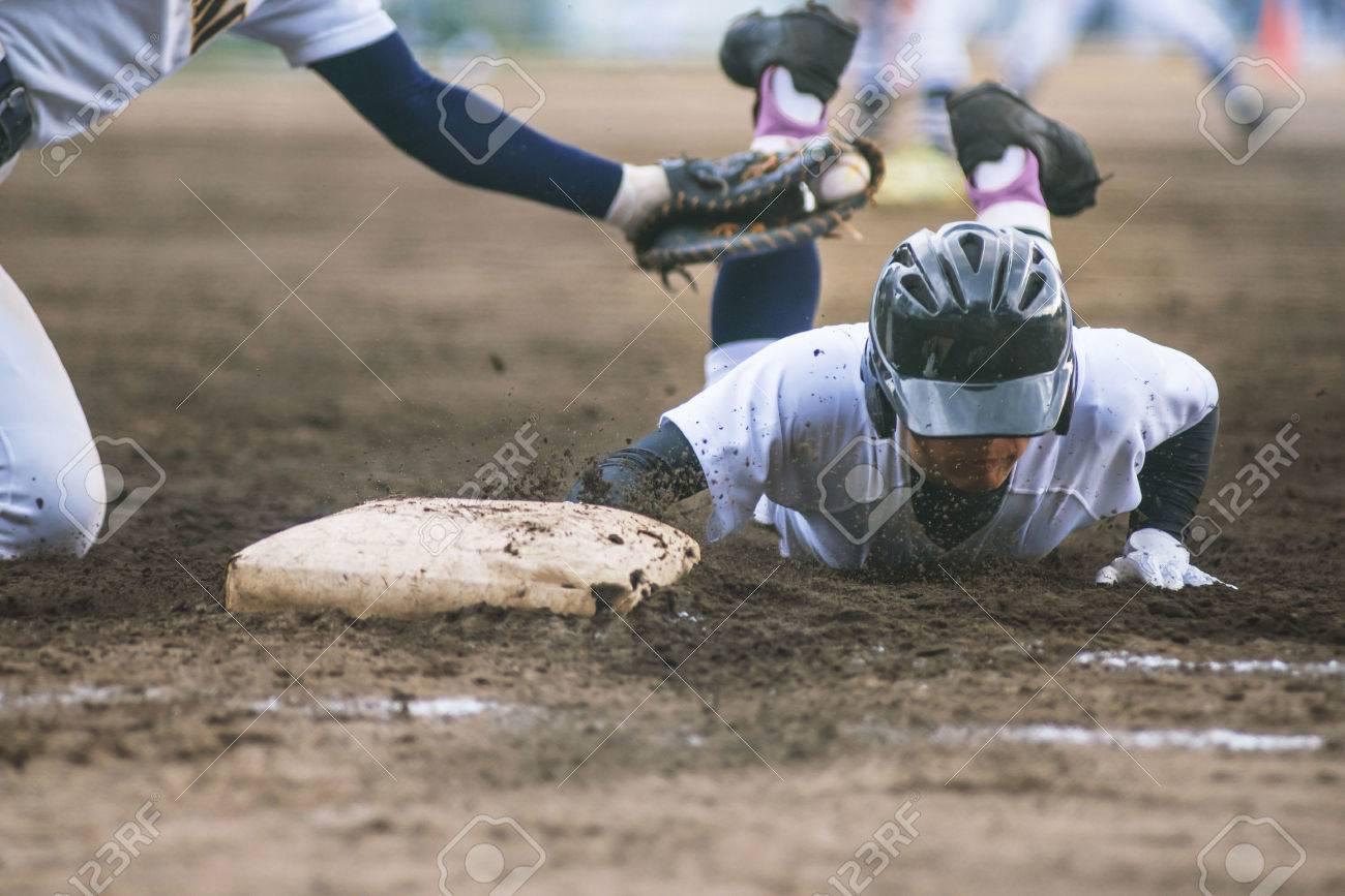 High School Baseball player - 54316175