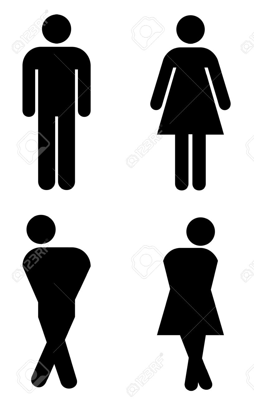 Bathroom Sign Male Vector toilet sign stock photos & pictures. royalty free toilet sign