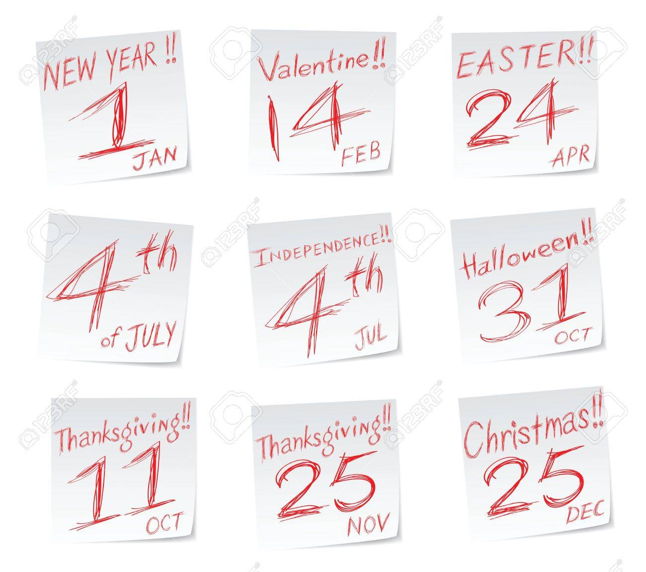 holiday icons with date of calendar new year valentines day holiday icons with date of calendar new year valentines day - Halloween Date This Year