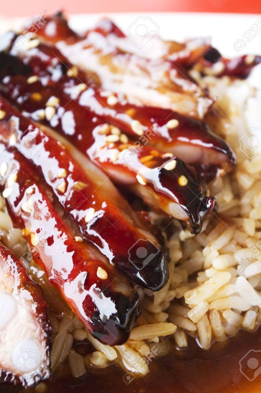 Pork ribs n rice recipe