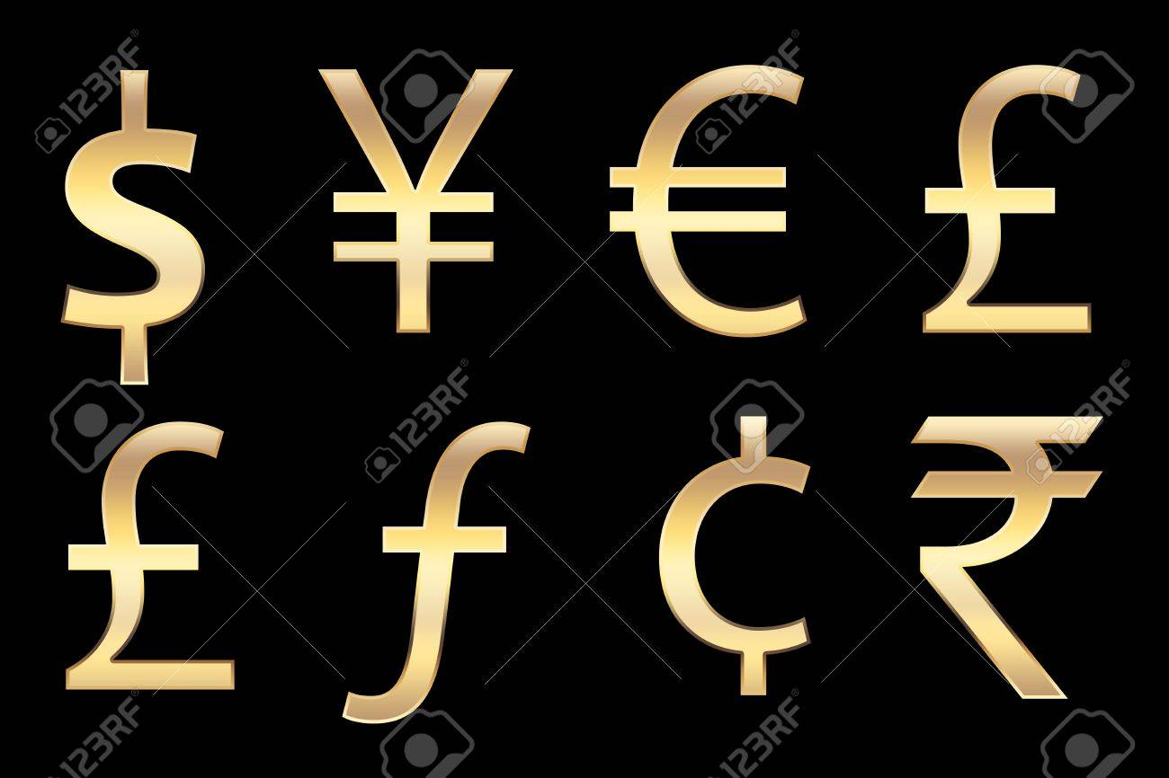 All currencies symbols in gold for business concepts stock photo all currencies symbols in gold for business concepts stock photo 11138919 biocorpaavc Choice Image