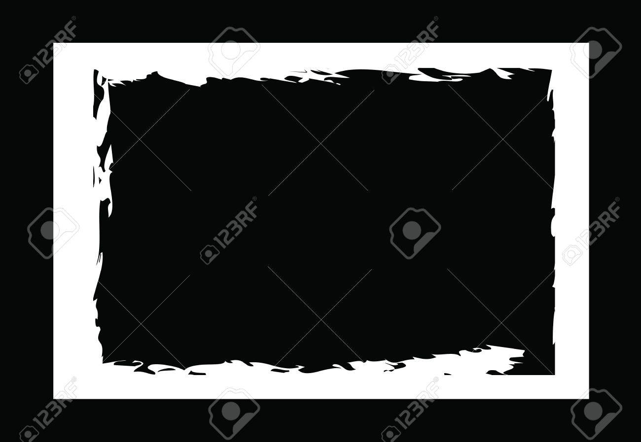 grunge borders, frames, for image or photo. vector format. Stock Vector - 11821059