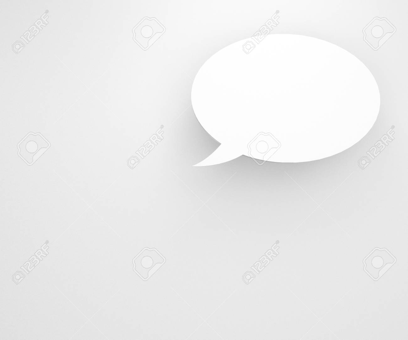 colourful background with talking bubbles, to put person and message over the background. Stock Photo - 17455988