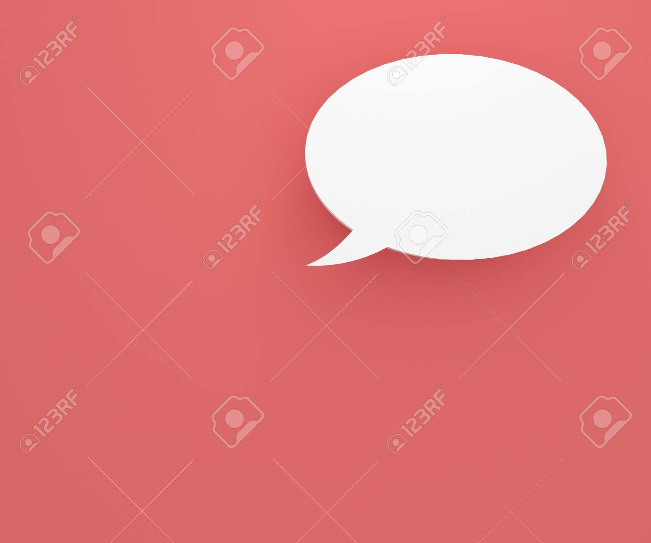 colourful background with talking bubbles, to put person and message over the background. Stock Photo - 17455918
