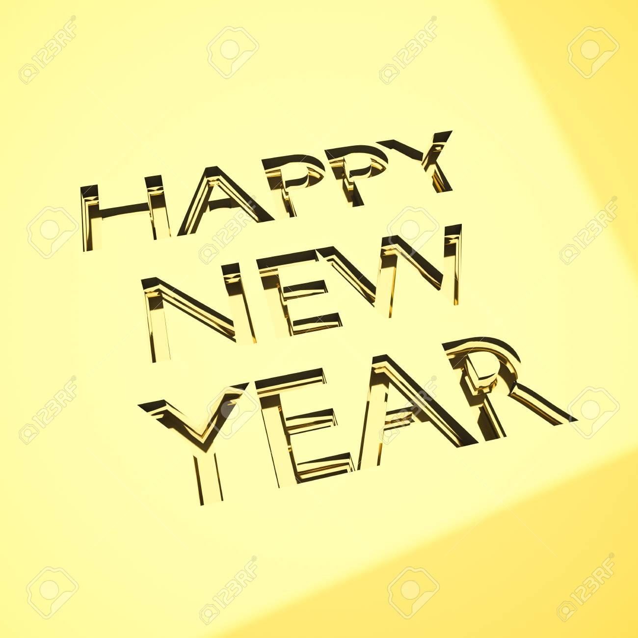 Guten Rutsch Ins Neue Jahr Nachricht In Gravur, Für Feiern Oder ...