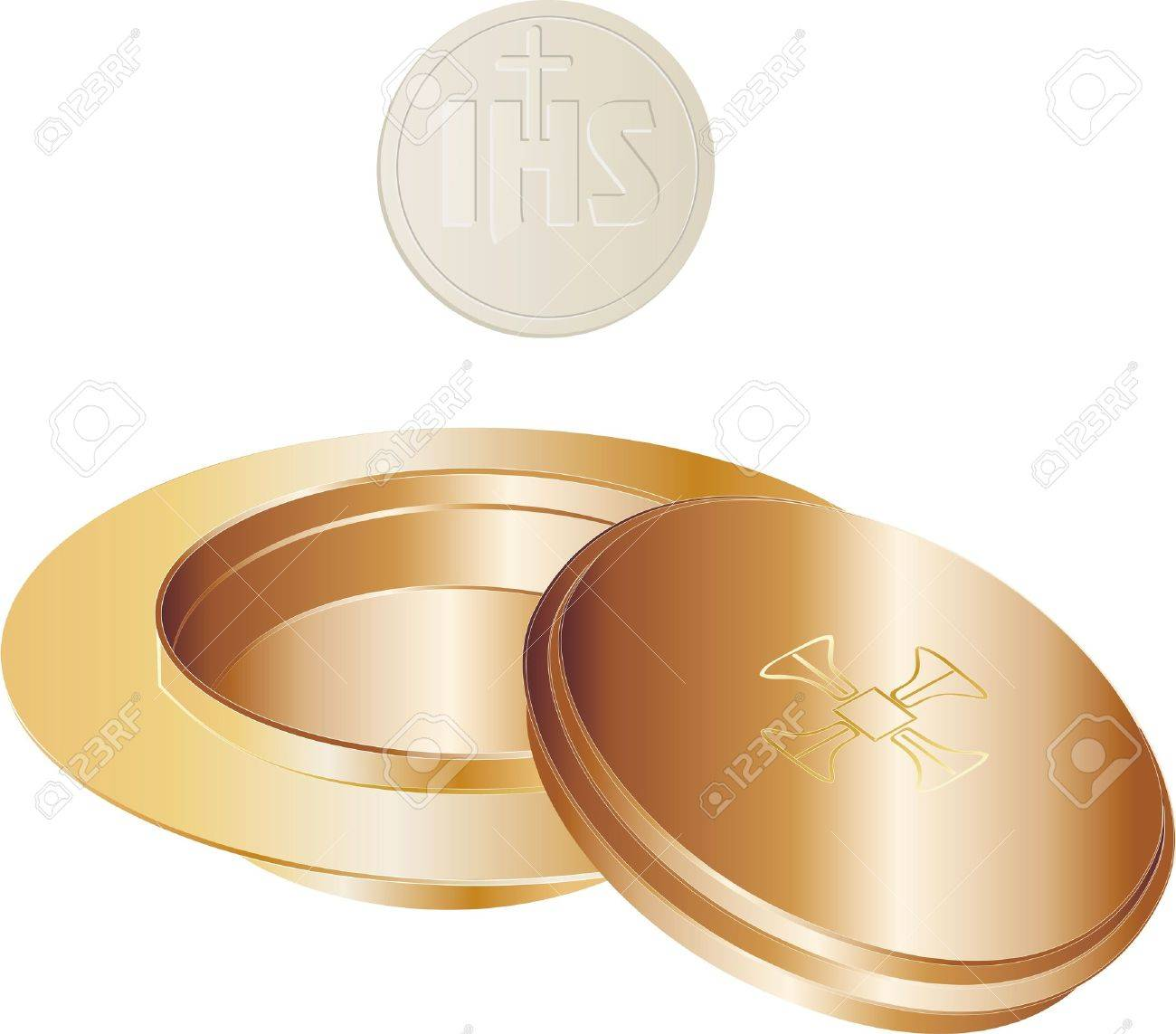 paten and wafer Stock Vector - 12085197