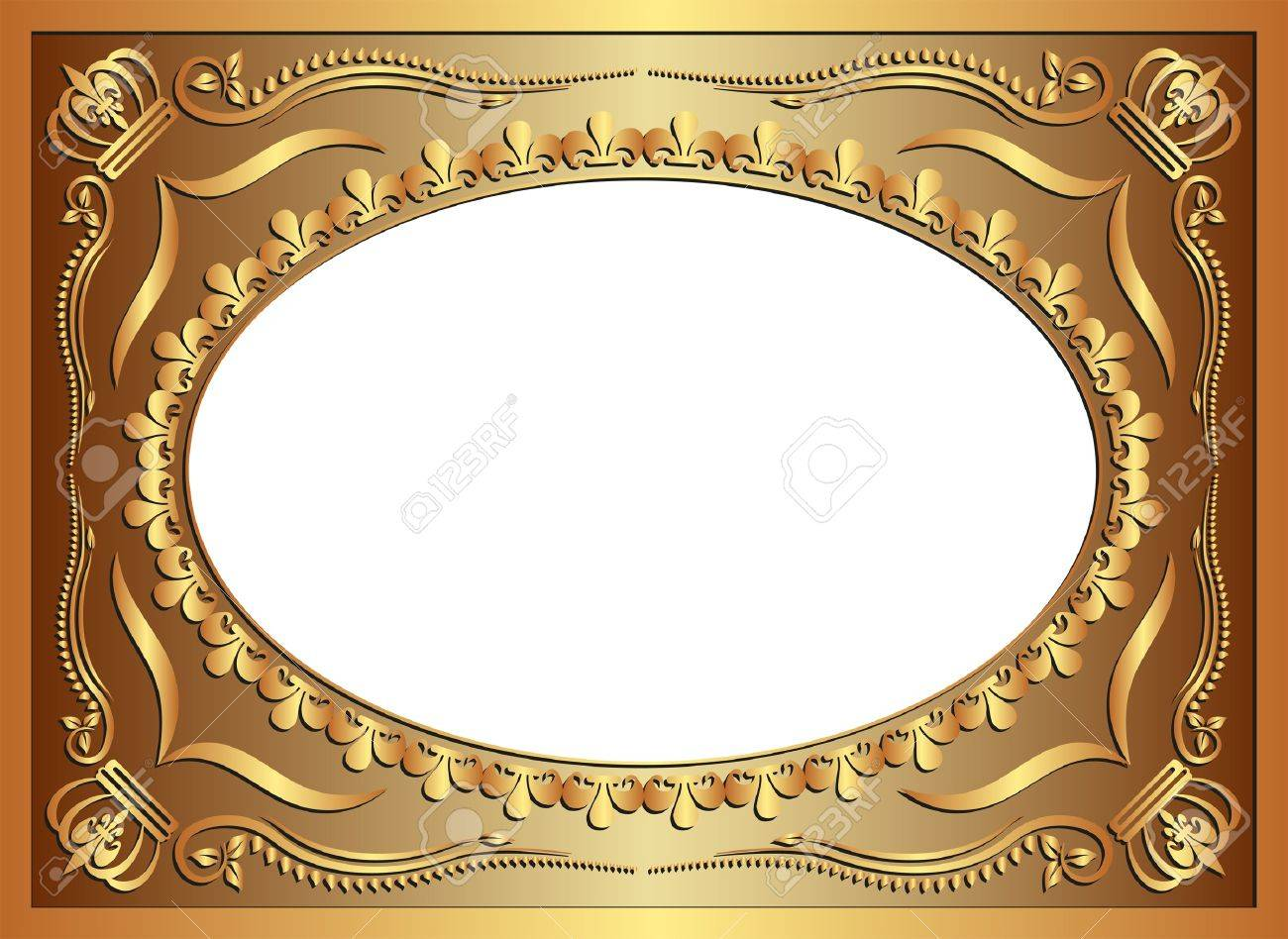 golden background with ornaments Stock Vector - 12804798